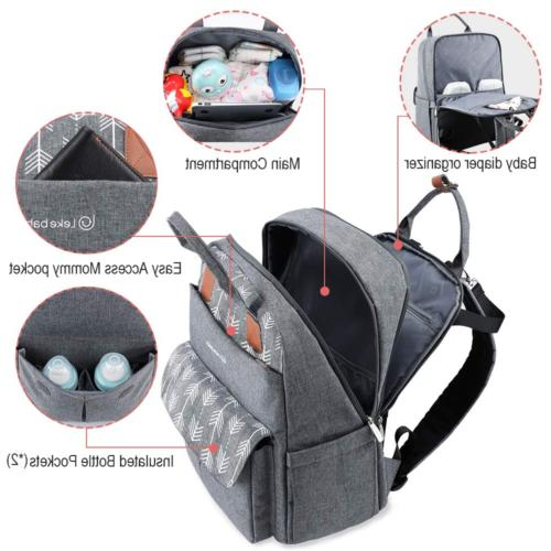 Mummy Diaper Bag Large Capacity Backpack with