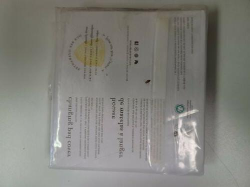 New** Changing Pad Cover Gray 100% Organic