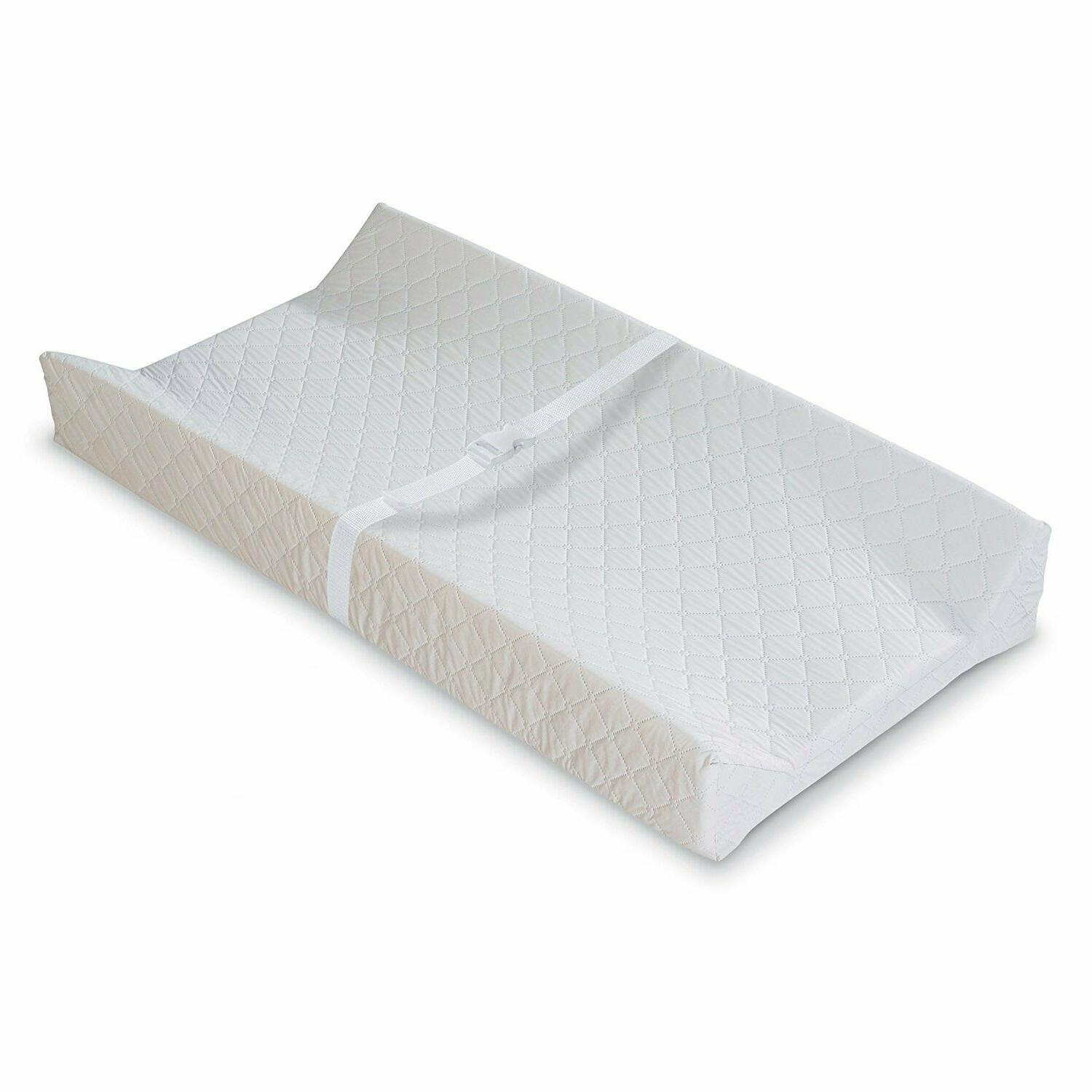 new contoured changing pad white usa seller
