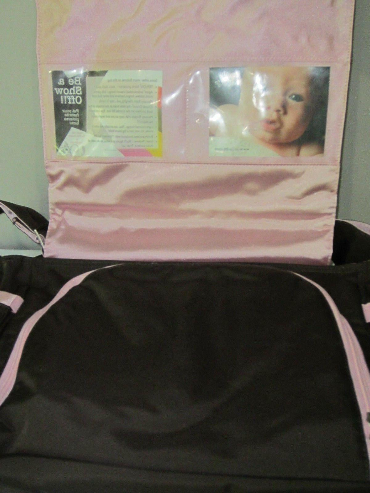 New Diaper Pink Baby Changing + Bag Photo