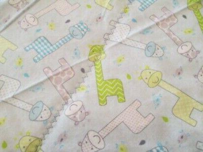 NEW - Giraffe Print Handmade Quilted Changing Pad,