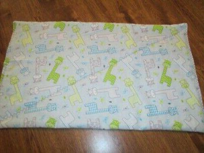new small giraffe print baby changing pad