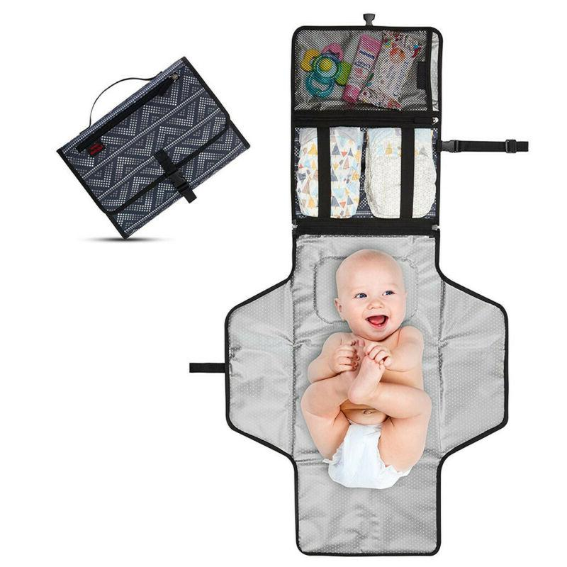 newborns foldable waterproof baby diaper changing mat