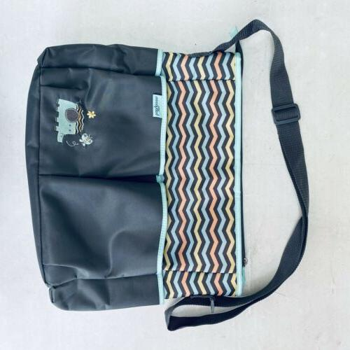 Baby Print Tote Pockets Changing