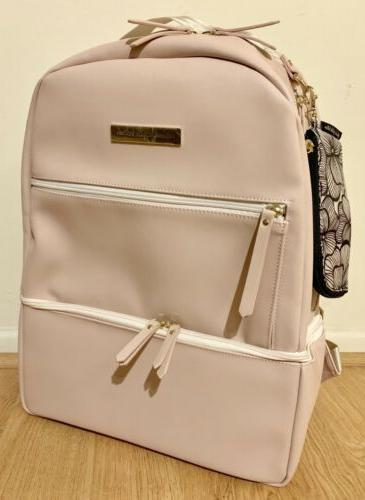 NWOT Bottom Axis Blush Leatherette