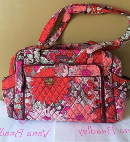 nwt bohemian blooms stroll around baby bag