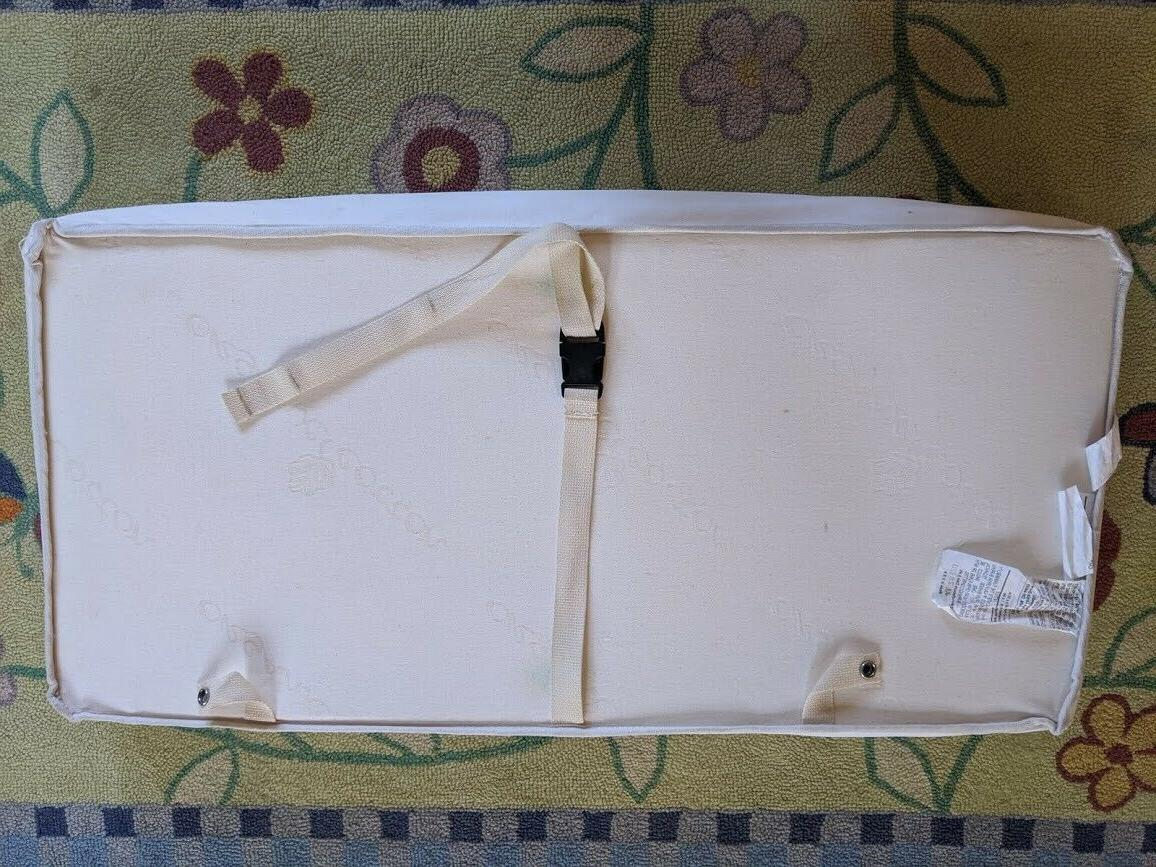 Naturepedic Organic Contoured CHANGING Table Made In USA