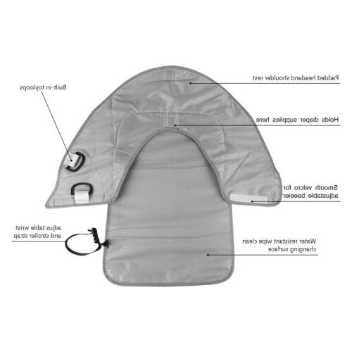 Portable Baby Pad Cover Waterproof Folding