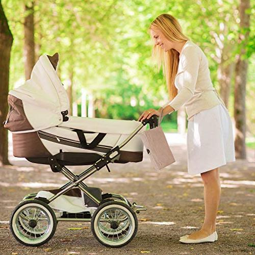 MoBaby Portable Changing Luxurious Soft-as-Suede Machine Washable, Change for Baby, Infant, Newborn, Gray