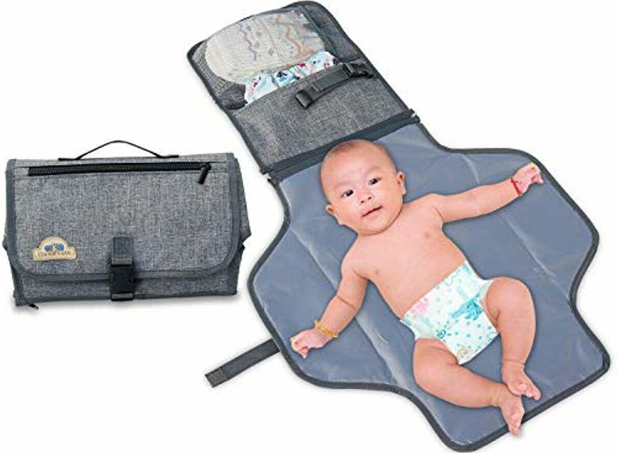 portable changing pad diaper clutch lightweight travel
