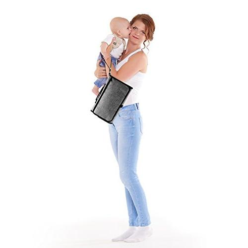Portable Station for Newborn Lightweight Travel Changer - Foldable Changing Pad Head