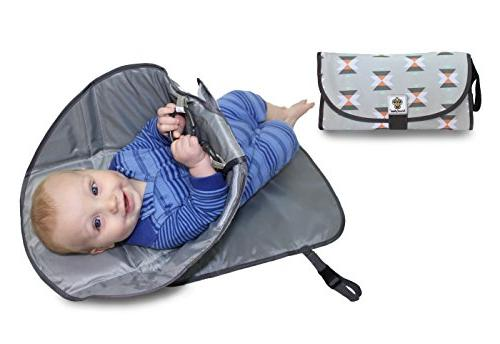 portable clean hands changing pad 3 in