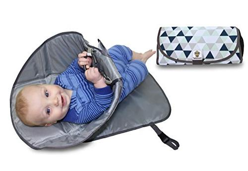 portable clean hands changing pad