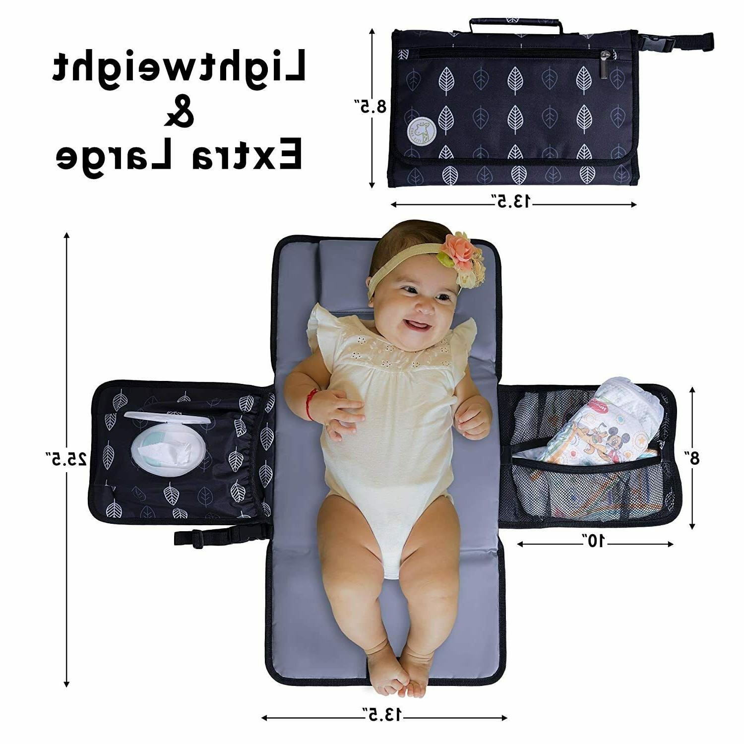 portable diaper changing pad for baby travel