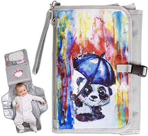 portable diaper changing pad station