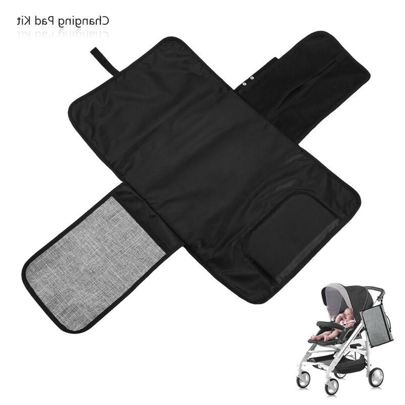 portable travel home diaper changing pad kit