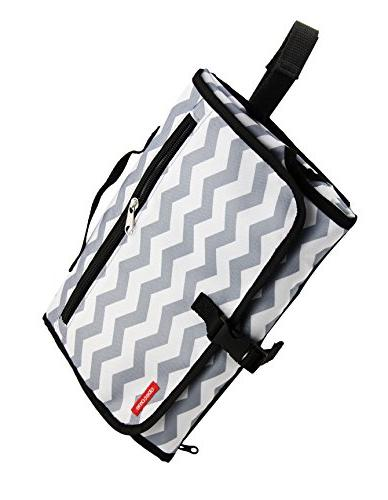 Obecome Portable Diaper Pad Travel Mat Organizer Bag for Toddlers Infants