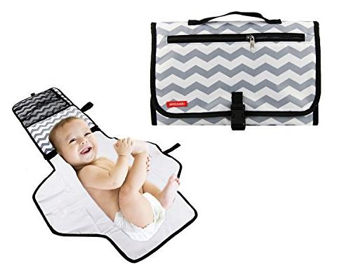 portable waterproof baby diaper changing