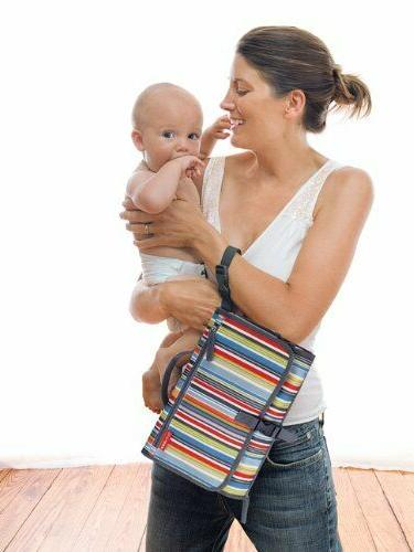 pronto portable changing pad station diaper clutch