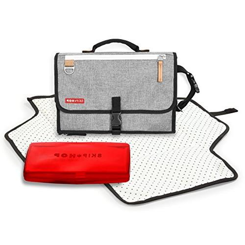 Skip Hop Duo Signature Diaper Bag with Portable Changing Mat Connected Dots