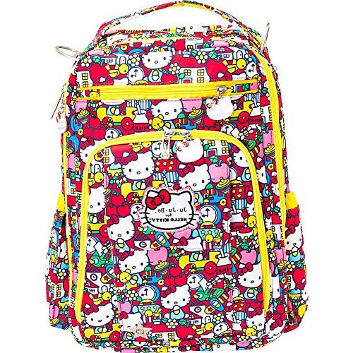 87dbed9792ec JuJuBe Be Right Back Multi-Functional Structured Backpack/Diaper Bag,