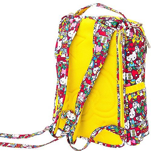 JuJuBe Be Back Multi-Functional Structured Backpack/Diaper Nautical Collection - Admiral