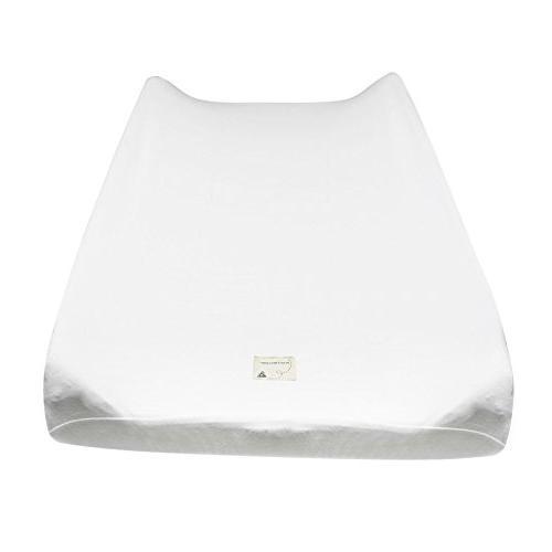 solid cloud changing pad cover