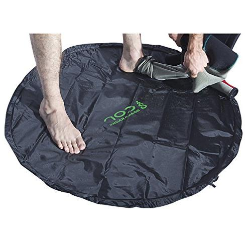 Cor Surf Mat Great Boaters Need Change Out of Wetsuit