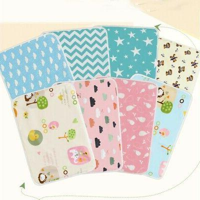 Newborn Toddler Infant Baby Changing Pad Nappy Cover Waterpr