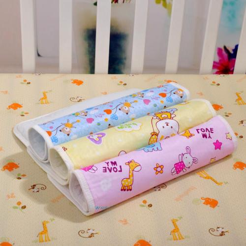 US Baby Infant Diaper Nappy Waterproof Bedding Changing Cover