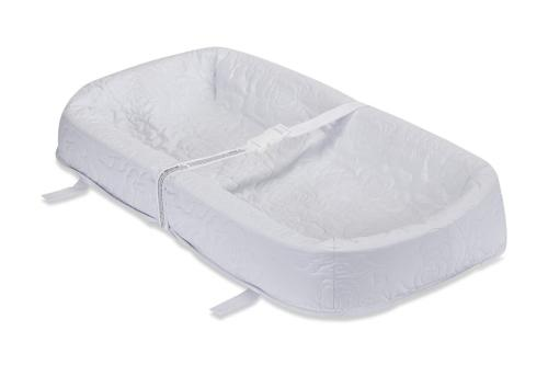waterproof 4 sided cocoon style changing pad