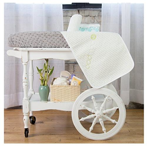 Waterproof Changing 3 - Resistant Table Cover - Coverup - Stain - Absorbent Baby Shower