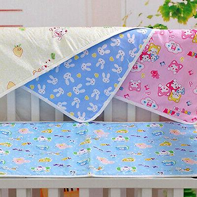 Waterproof Changing Cotton Washable Baby Infant Urine Nappy