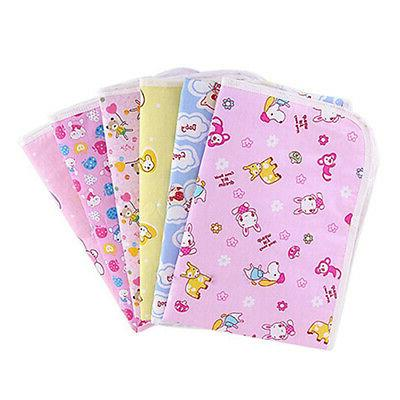 Waterproof Changing Diaper Cotton Infant Urine Mat Nappy Bed