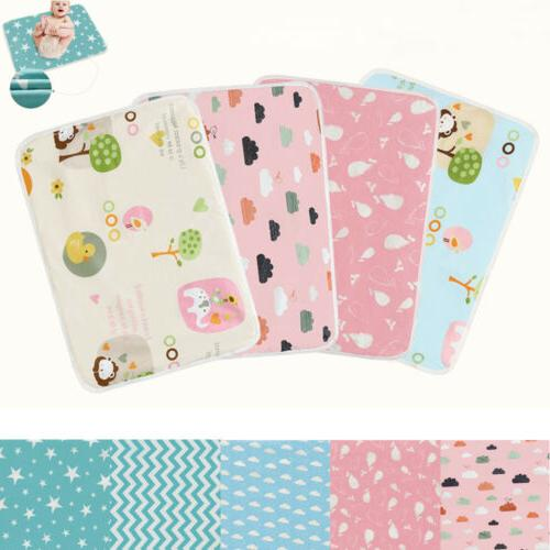 waterproof changing diaper pad cotton washable baby