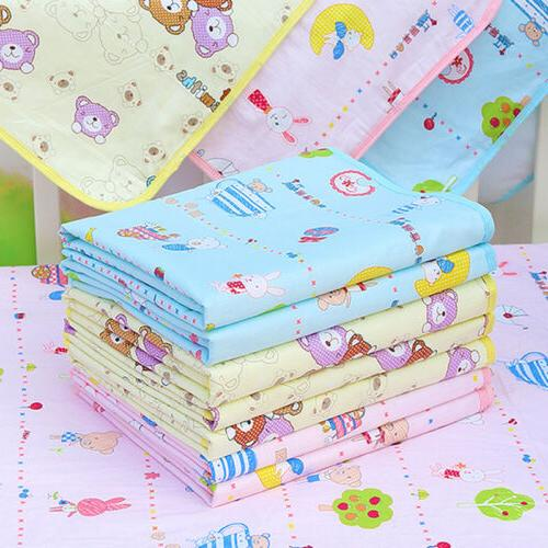 waterproof changing diaper pads washable cotton baby