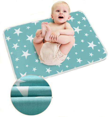 Waterproof Clean Changing Pad Portable Baby Cover Mat S-XL