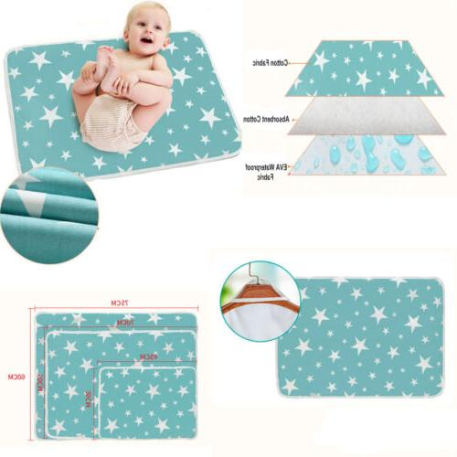 Waterproof Changing Pad Mat Folding Diaper