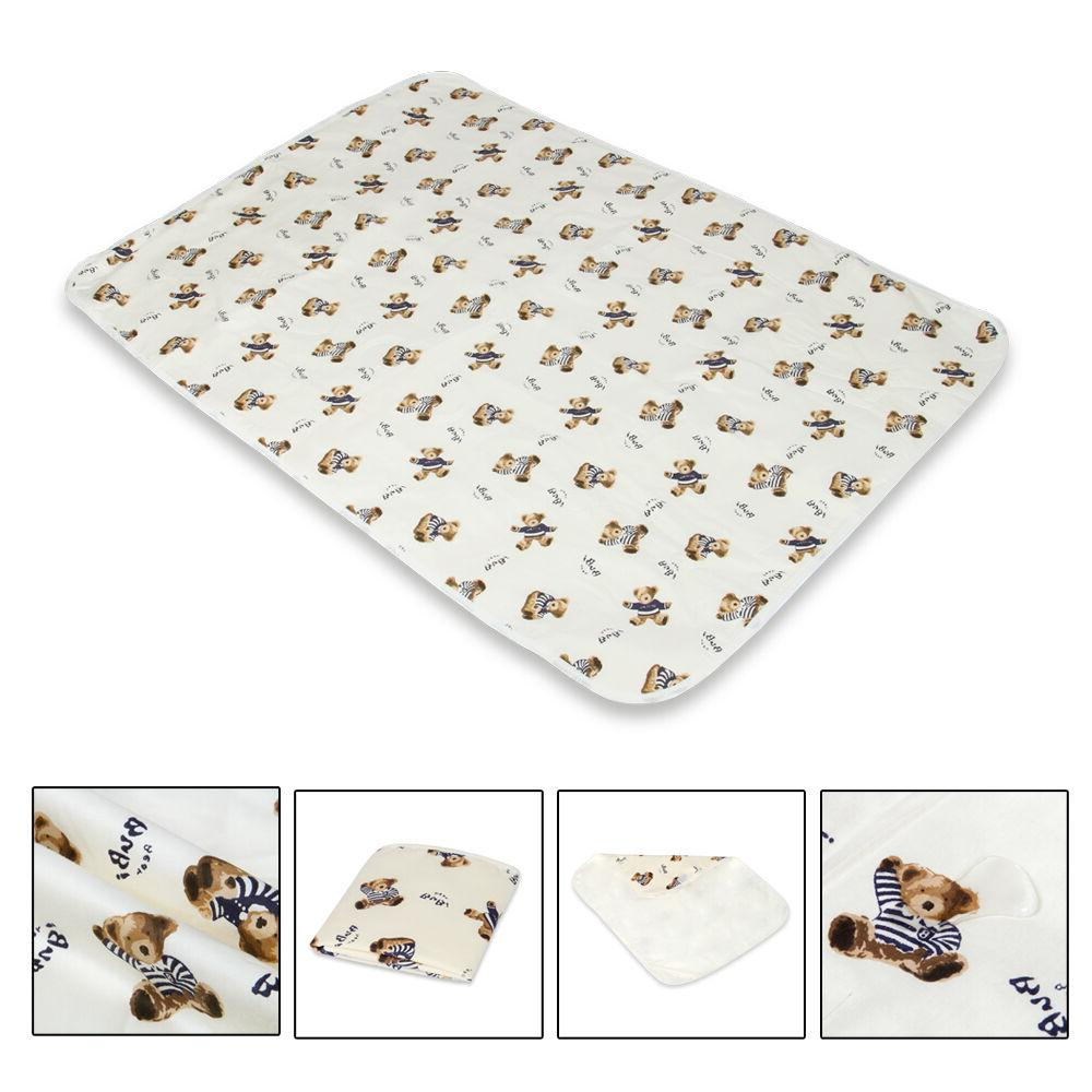 Waterproof Clean Hands Pad Baby Cover Mat Folding Diaper S-XL