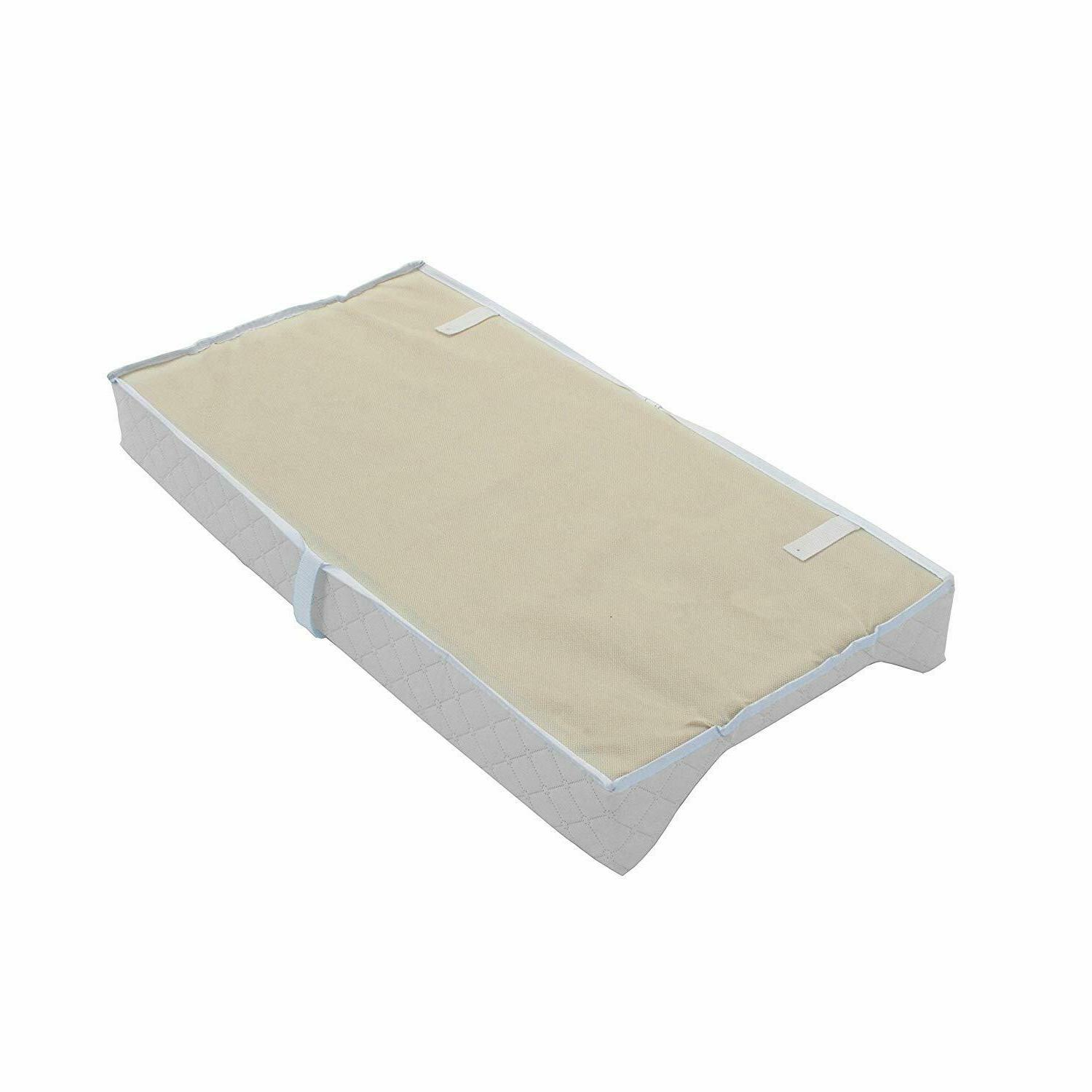 """LA Baby Waterproof Changing Pad,30""""-Easy to w/Non-Skid BottomStrap"""