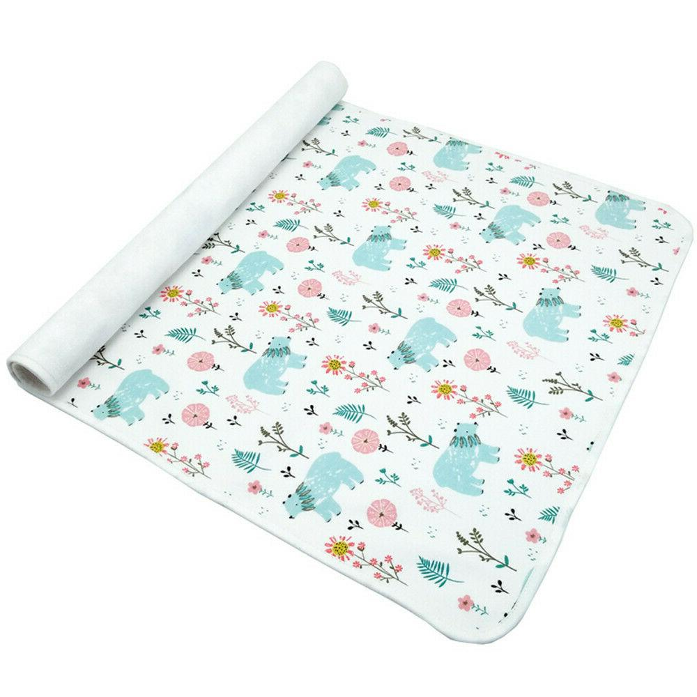 Waterproof Portable Changing Baby Diaper Changing Mat for Home