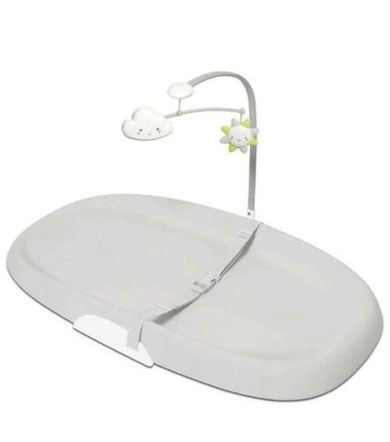 wipe clean changing pad light