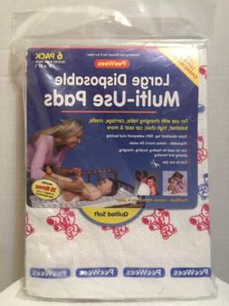 large disposable multi use pads quilted soft