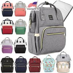 LEQUEEN Mummy Maternity Nappy Diaper Bag Large Capacity Baby