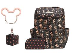 mickey mouse method diaper bag backpack coin