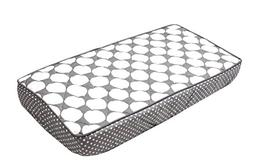 Bacati Mix and Match Dots Changing Pad Cover, Grey