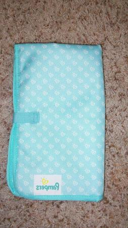 new baby foldable changing mat pad teal