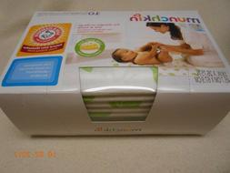 New box 10 Munchkin baby changing pads with baking soda home