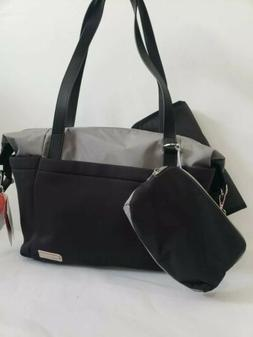 New DIAPER BAG Skip Hop CHANGING PAD Bottle Tassel Black Bab