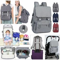 Large Capacity Diaper Bag Waterproof Mummy Maternity Nappy T